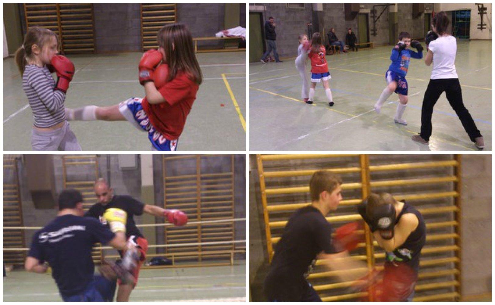 Crisn e kick boxing for Club piscine lasalle