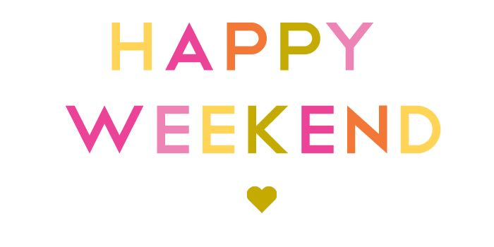 Happy Weekend Animated Heart Picture