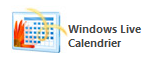 Windows Live Calendrier
