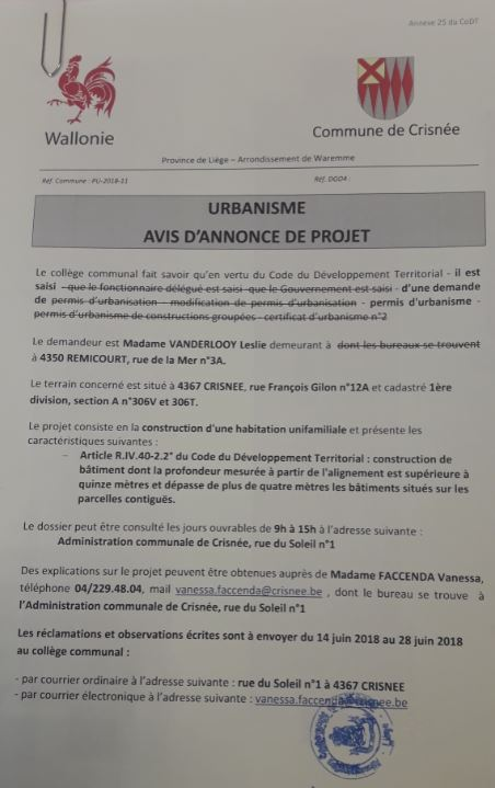 annonce 07 06